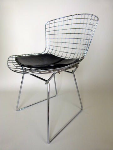1970s Knoll Bertoia wire chairs