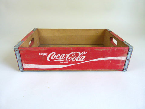 Vintage Coca Cola crates - Red