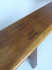 Antique 19th century French farmhouse bench - eyespy