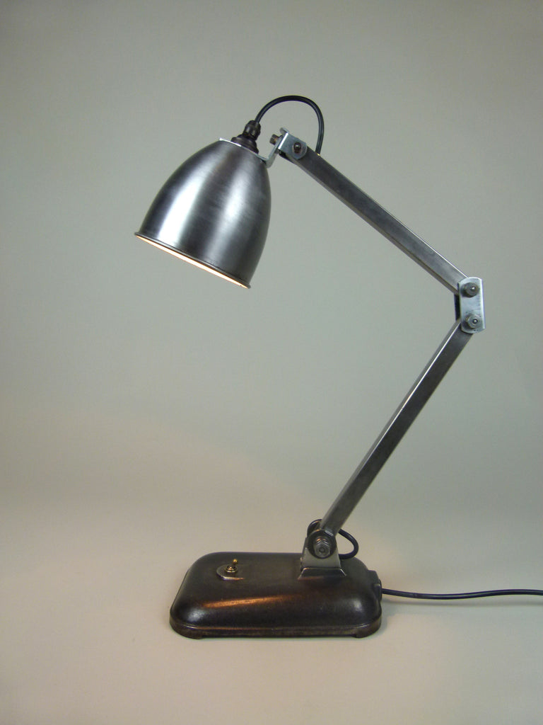 vintage industrial Memlite table lamp - eyespy