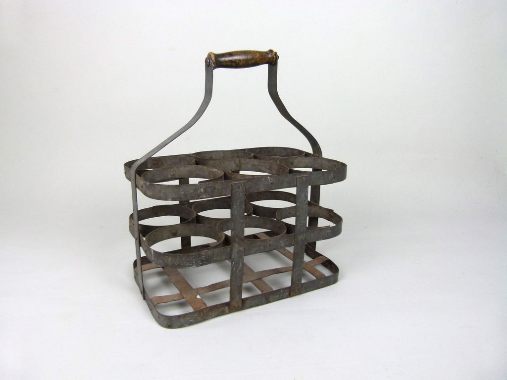 Vintage French bottle carrier - eyespy