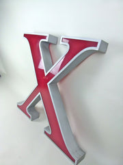 Giant 80cm vintage shop sign letter - X - eyespy