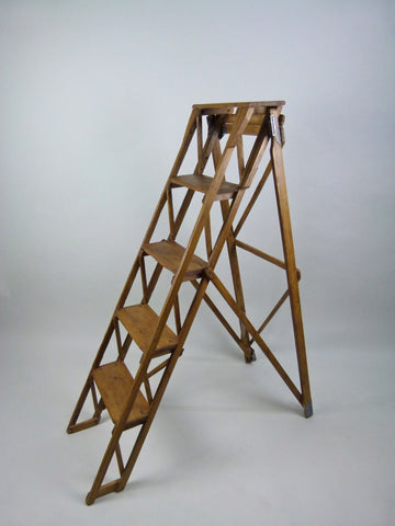 Antique 1930s step ladder