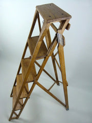 Antique 1930s step ladder - eyespy