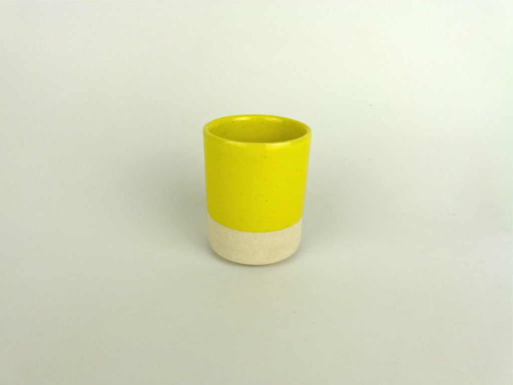 French Stoneware Basic Tumbler - Yellow - eyespy