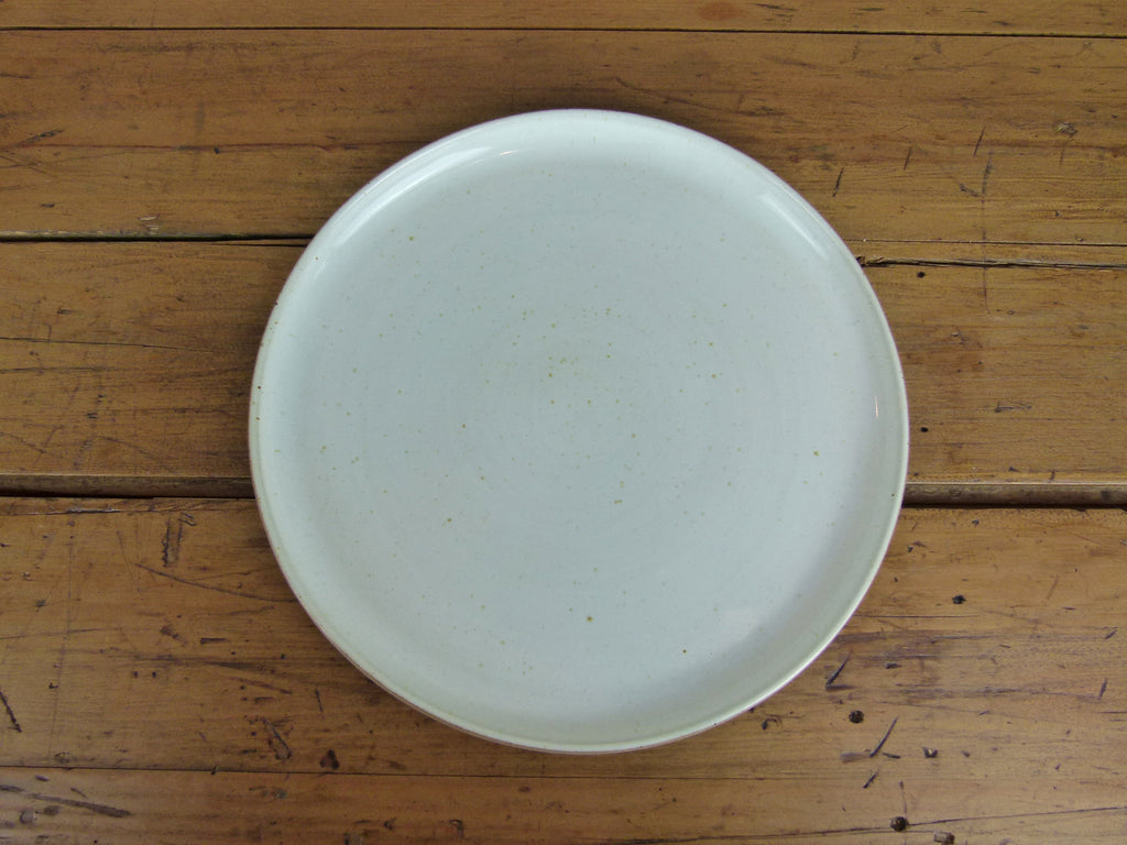 French Stoneware Basic dinner plate - Ivory - eyespy & Buy Les Guimards dinner plates and tableware online UK stockist - eyespy