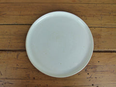 French Stoneware Basic dinner plate - Ivory - eyespy