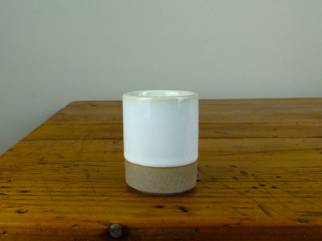 French Stoneware Basic Tumbler Small - Ivory - eyespy