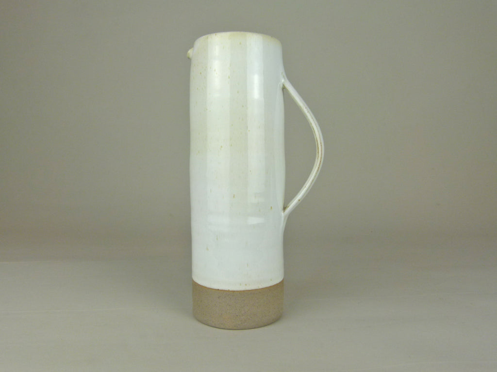 French Stoneware Basic pitcher - Ivory - eyespy