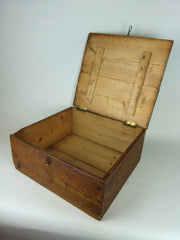 Antique Whisky bottle storage box - eyespy