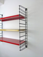 1970s Dutch mid century Tomado shelves - eyespy