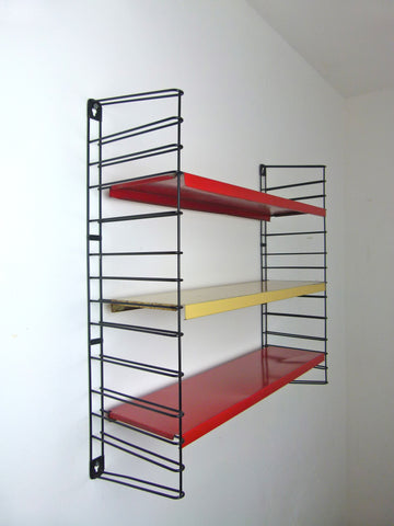 1970s Dutch mid century Tomado shelves
