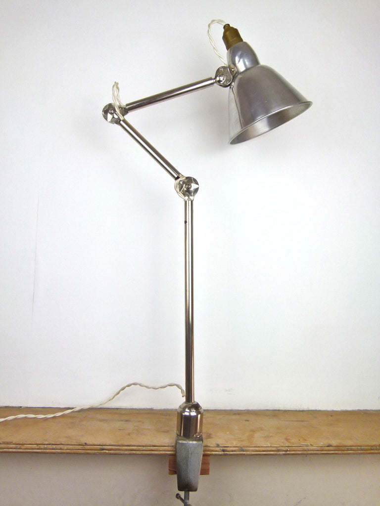 Vintage Industrial French Lamp - eyespy