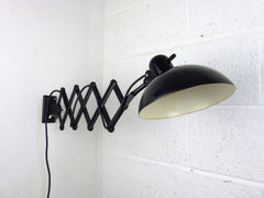 Bauhaus Kaiser Idell 6718 'Super' scissor arm wall mounted lamp - eyespy