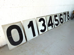 Vintage metal numbers - eyespy