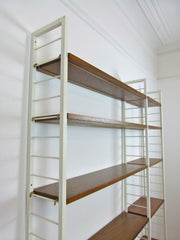 Ladderax shelving system. Double bay - eyespy