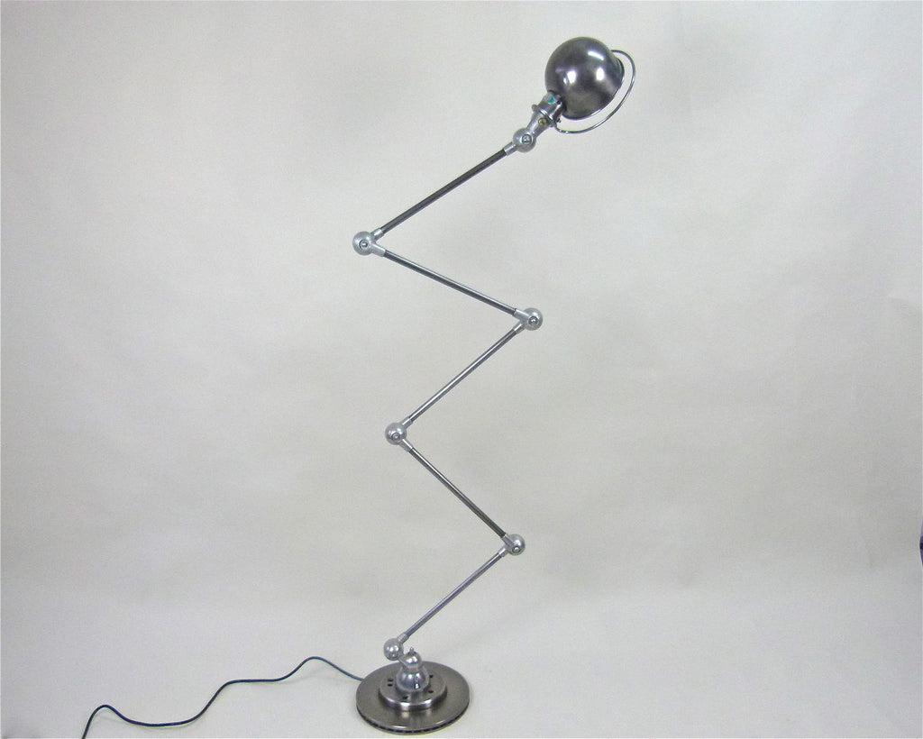 French 1950s floor standing lamp by Jielde - eyespy