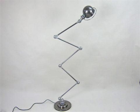 French 1950s floor standing lamp by Jielde