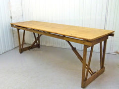 Vintage folding table - eyespy