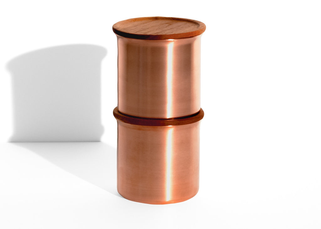 Ayasa copper storage container by Tiipoi - Medium 0.5l - eyespy