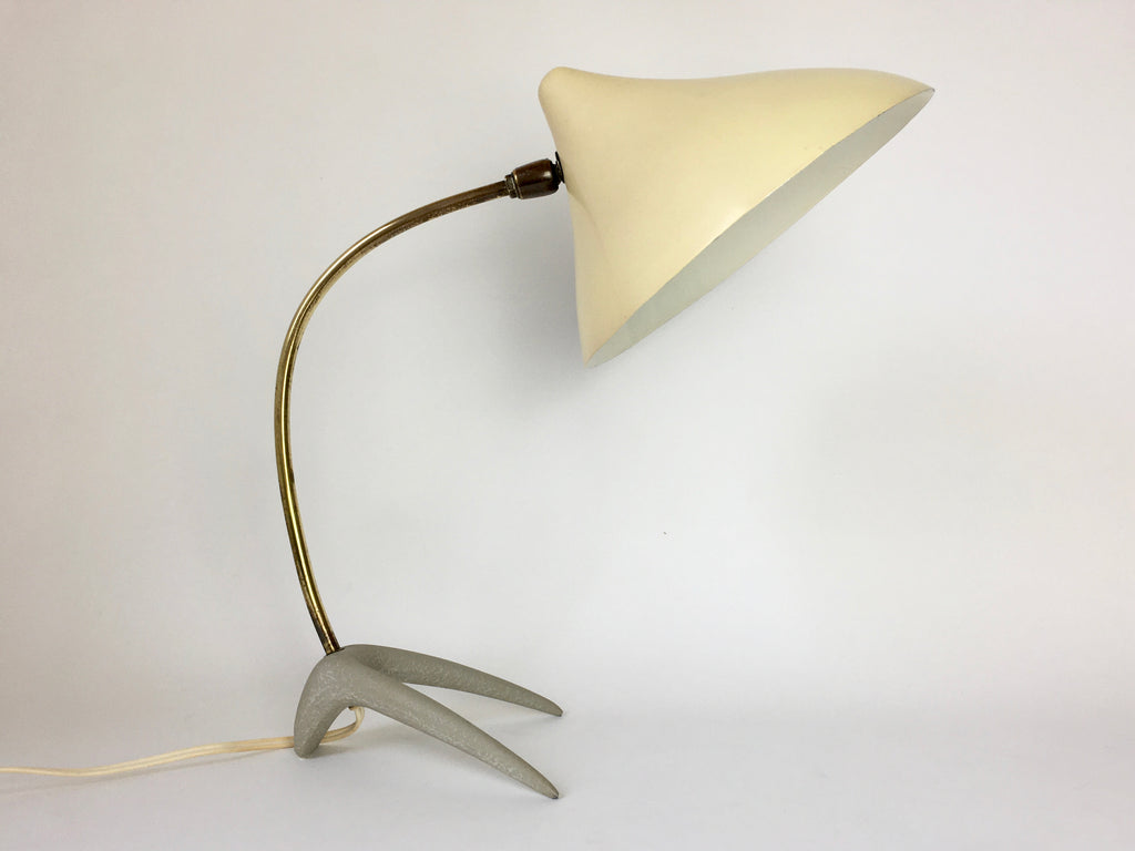 'Crow's Foot' table lamp by Louis Kalff for Philips, Netherlands - eyespy