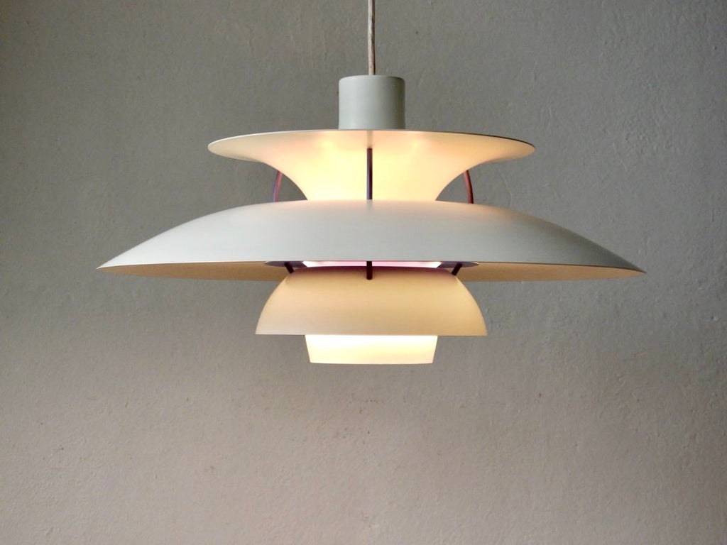 Danish Louis Poulsen PH5 pendant lamp by Poul Henningsen - eyespy