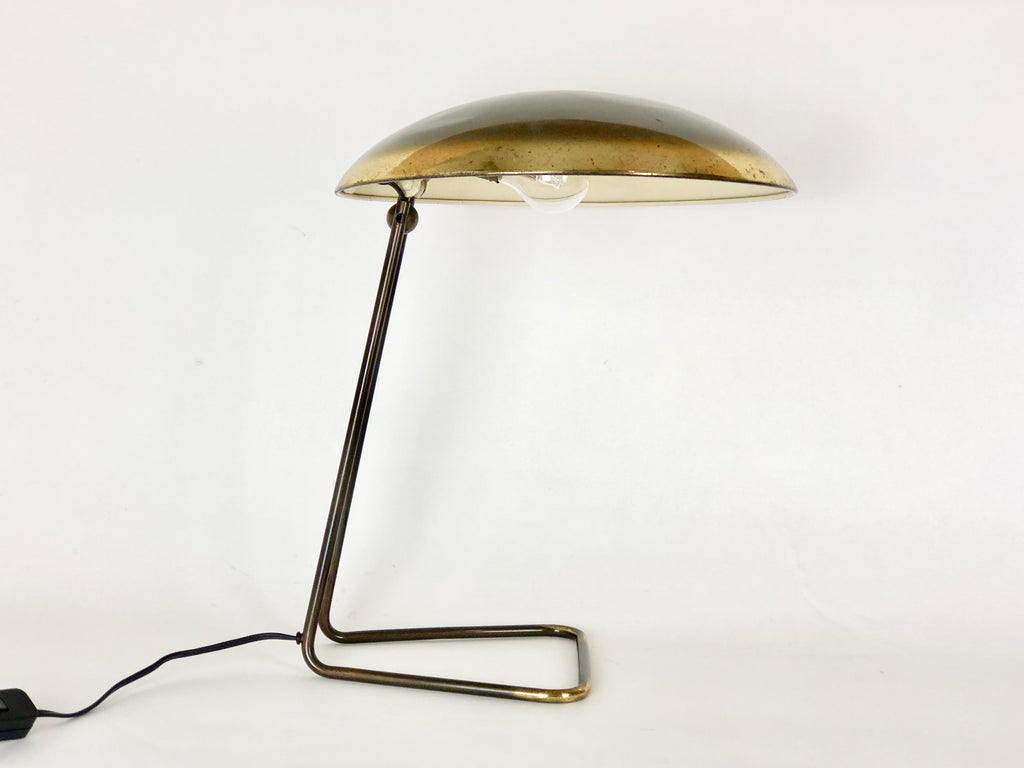 Kaiser Idell 6763 brass table lamp - eyespy