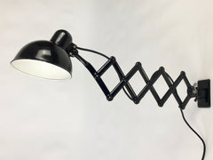 Bauhaus Kaiser Idell Model 6718 scissor arm wall mounted lamp - eyespy