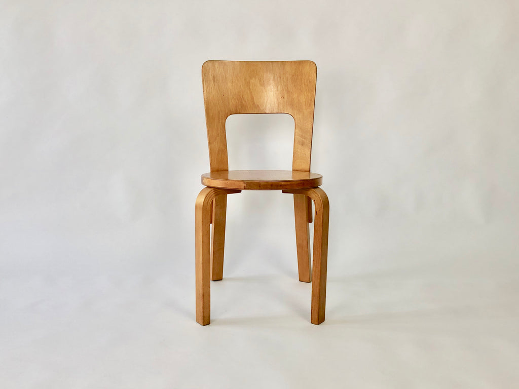 1930s Alvar Aalto Model 66 chair by Finmar - eyespy