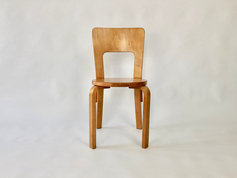 1930s Alvar Aalto Model 66 chair by Finmar