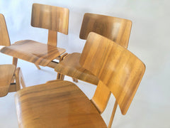 1950s Robin Day Hillestak chairs by Hille - eyespy