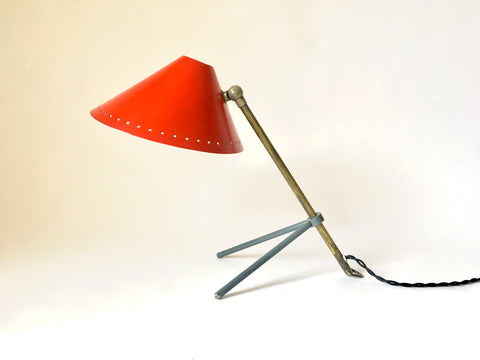 Pinocchio Desk or Wall Lamp by H.Th.J.A. Busquet for Hala