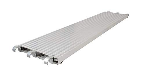 "CBM Scaffold All Aluminum Deck 75 lb sper Sq. Ft. Rated 19-1/4"" Wide by 7' Long"
