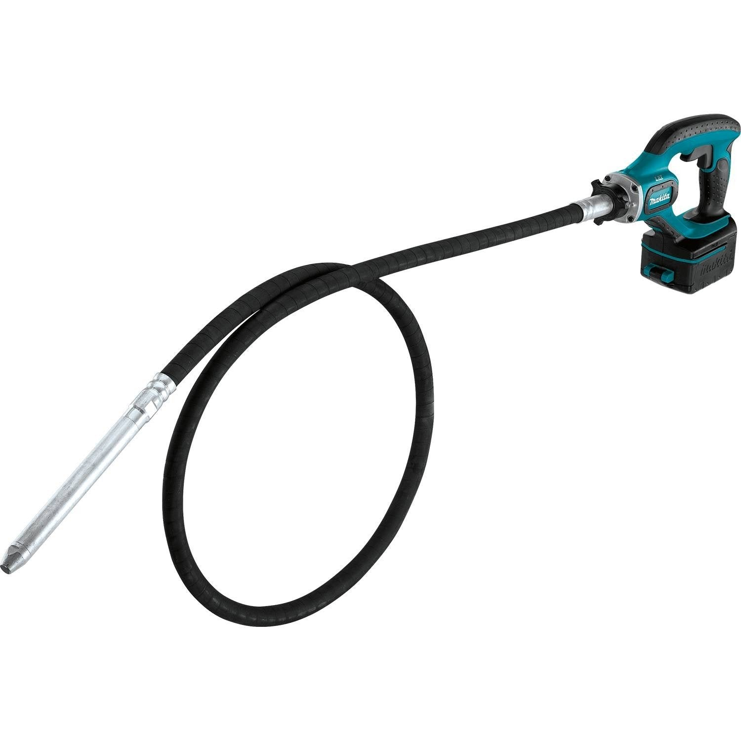Makita XRV02T 5.0 Ah 18V LXT Lithium-Ion Cordless Concrete Vibra Kit, 8'