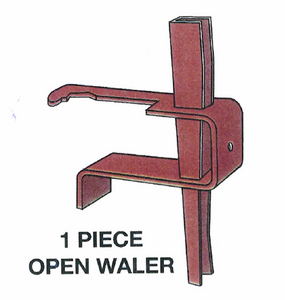 1 Piece Waler Clamp for Symons Style Forms- Variable Quantities