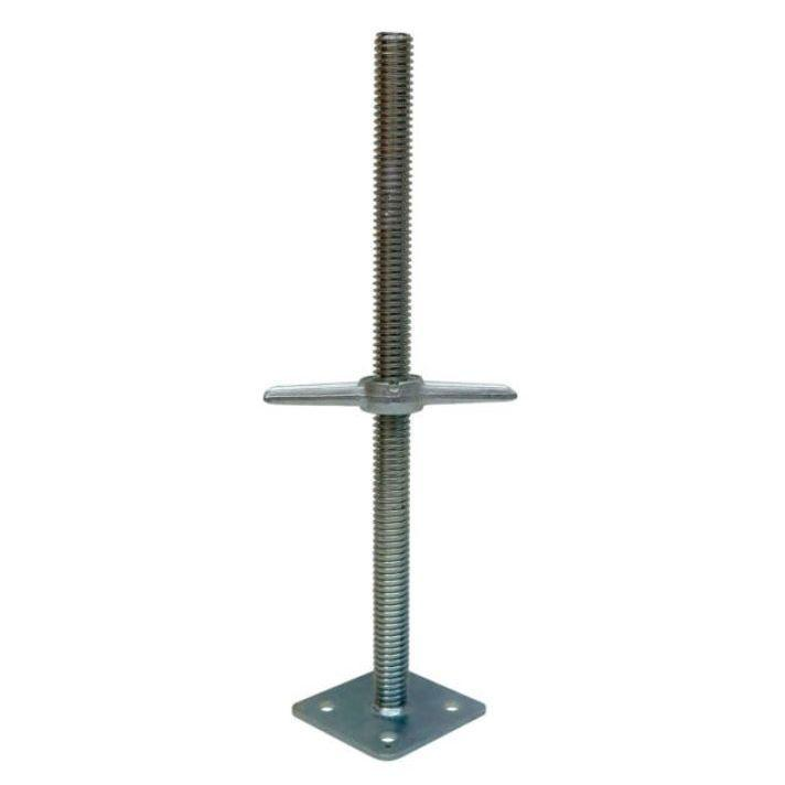 Hi-Load Screw Jackw/Plate  4 - Pieces
