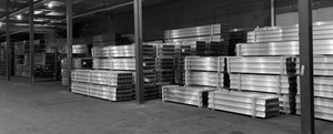 "Aluminum Beam Joist  6-1/2"" High <br> 5"" Base  alloy 6061-T6 --- [Bundles of 30] <br> (SIZES BELOW) <br> READ INFO"