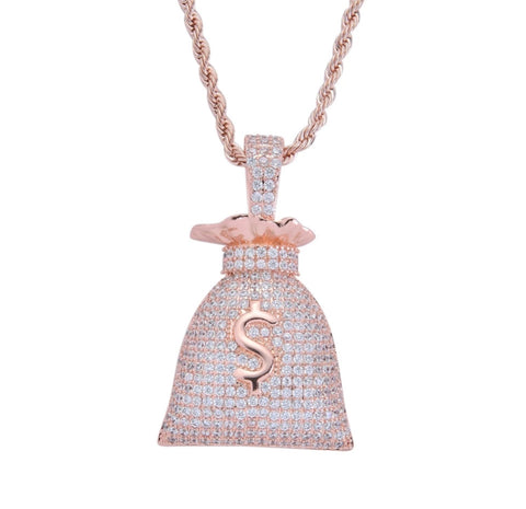 Money Bag Pendants