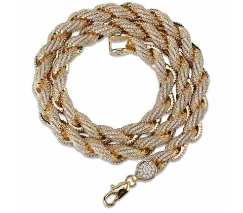 Cuban Rope Chain Necklace