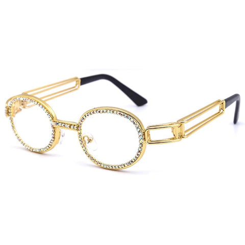 18k Gold Diamond Glasses