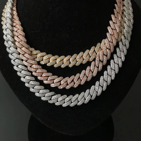 Diamond Miami Cuban Necklace