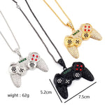 Gaming Controller Pendant Necklace
