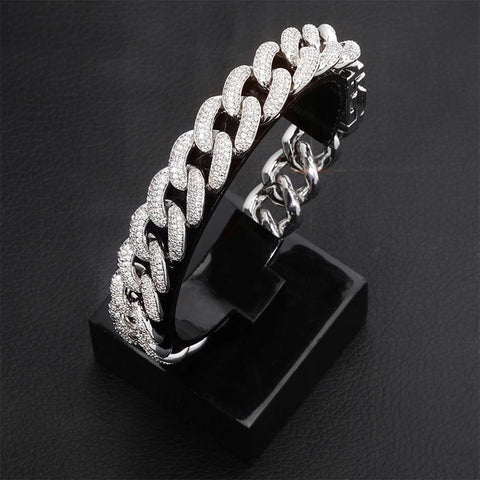 14mm Miami Cuban Link Bracelet