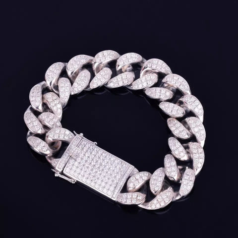18mm Miami Cuban Link Bracelet