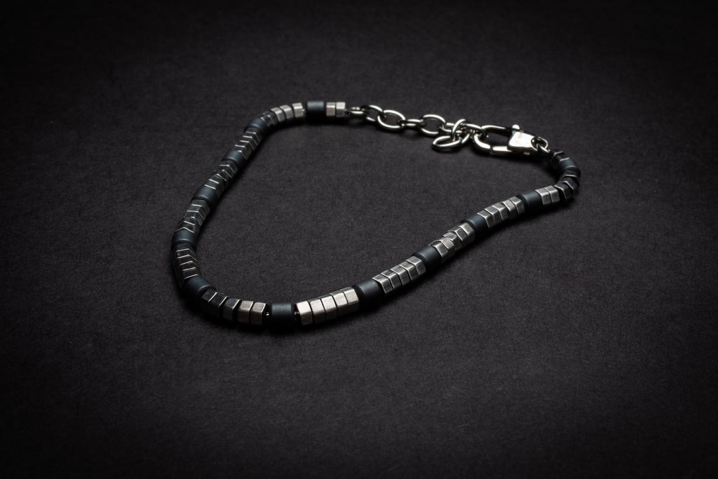 Men's Steel Bracelet - Quality Gift for Car Nuts