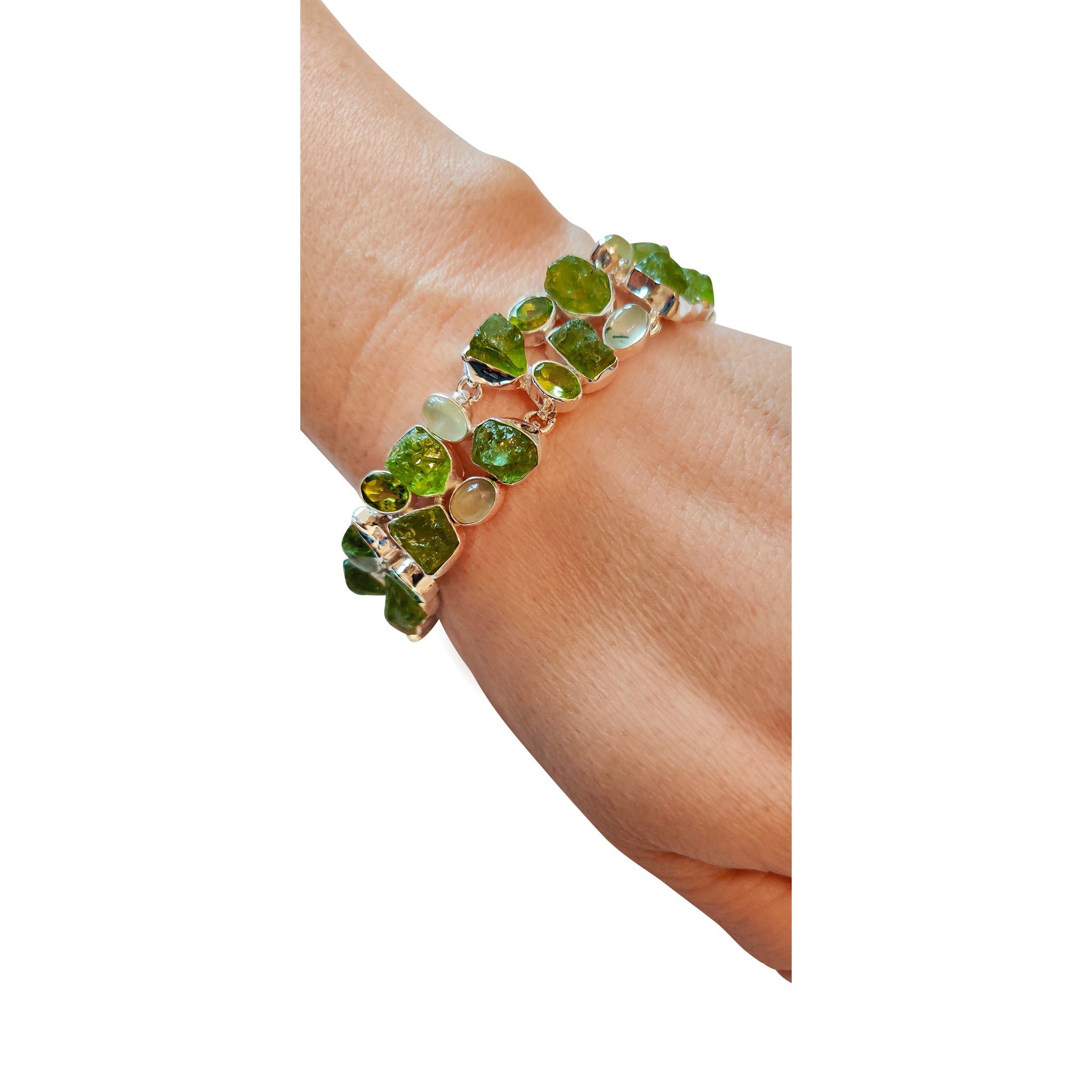 Beautiful 12ct Peridot Bracelet
