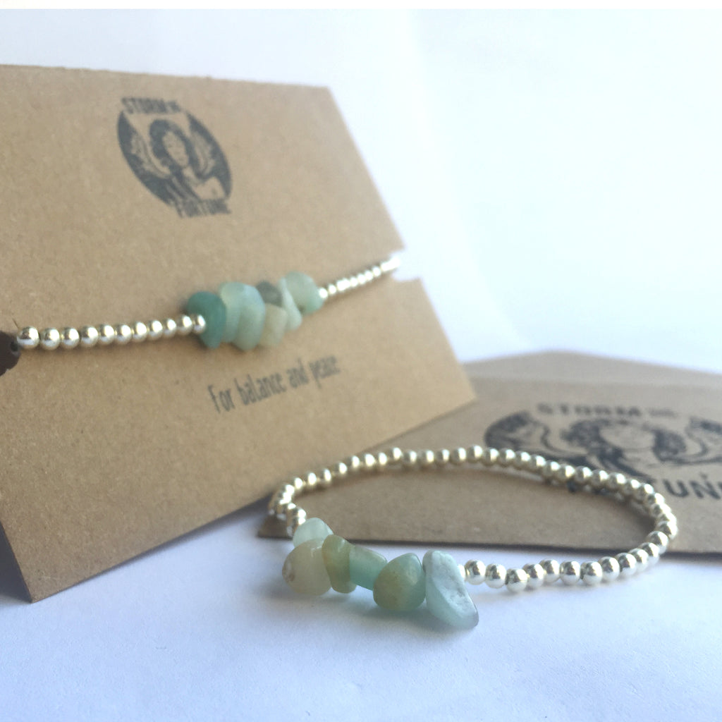 'Freyja' Amazonite Bracelet - For Balance And Peace