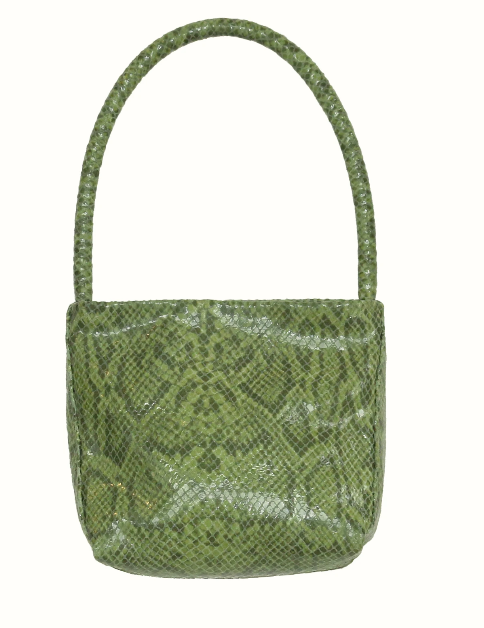 Baby Ombra Bag. Soft Green Snake