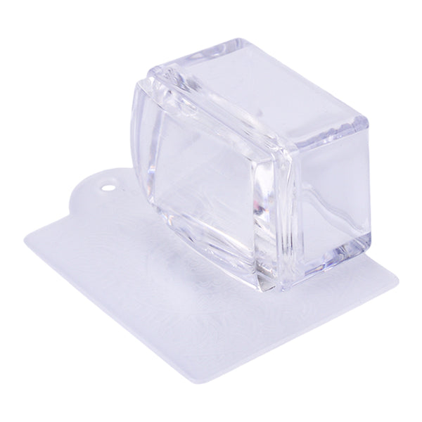 Short Handled Rectangular Clear Stamper set