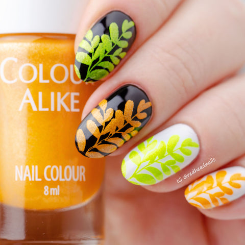 Shake it (Disco - neon metallic stamping polish)
